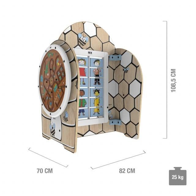 Sistema de juego IKC «Honey play» de madera certificada FSC