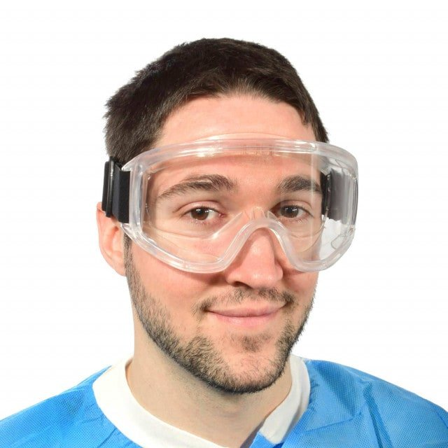 Infection protection goggles for all-round protection