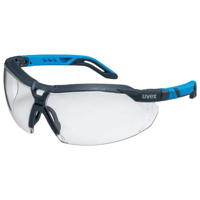 uvex i-5 Schutzbrille mit großflächiger Abdeckung im Front- und Seitenbereich