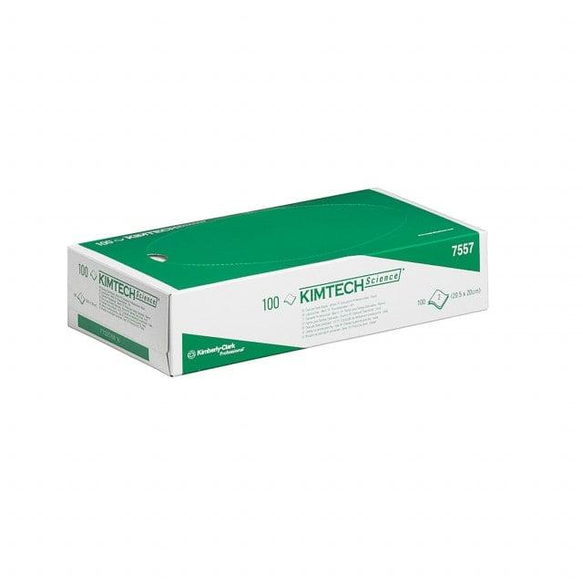 Lingettes de laboratoire KIMTECH en boîte pratique, en cellulose à deux couches