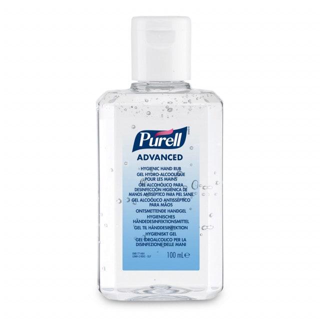 Purell Advanced Hygienic Hand Rub gel with moisturising ingredients