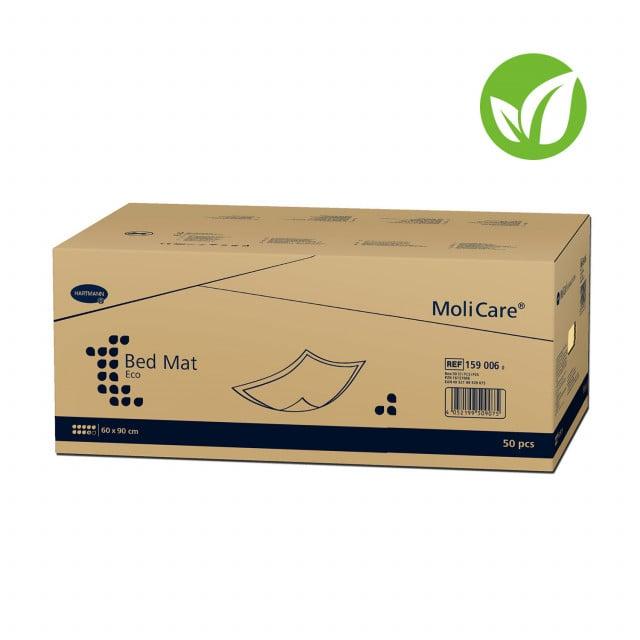 MoliCare Bed Mat Eco 9 - Coussin d'incontinence écologique à base de cellulose recyclée