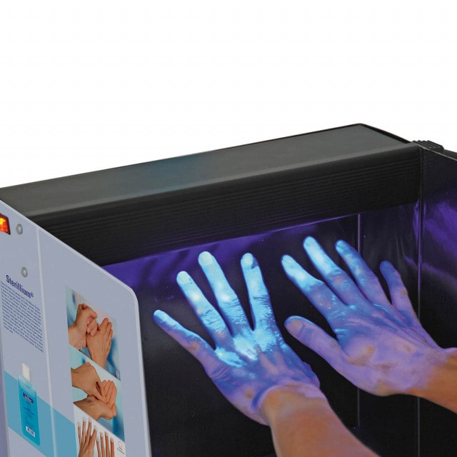 Hartmann Derma LiteCheck Box for fluorescence tests