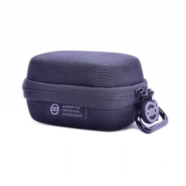Oxymètre de pouls oxypod sac avec mousqueton pour fixation à la ceinture, aux sacs, etc.