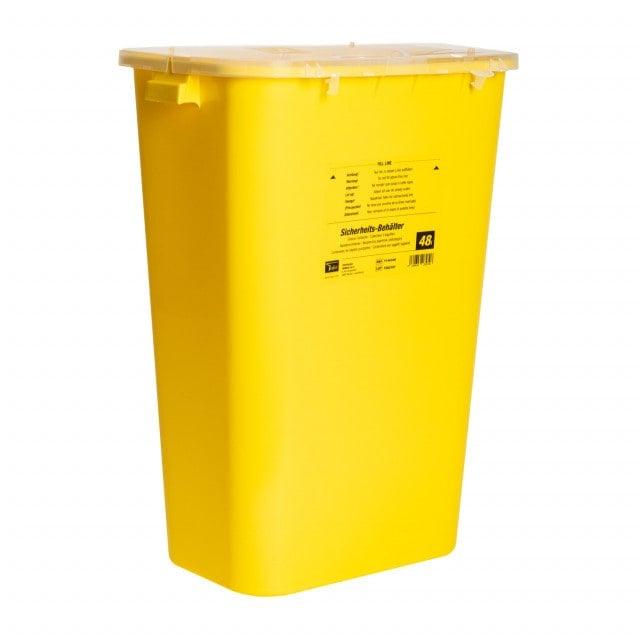 XL Sicherheitsbehälter für Kanülen, Spritzen, Einmalskalpelle und andere Einweg-Instrumente