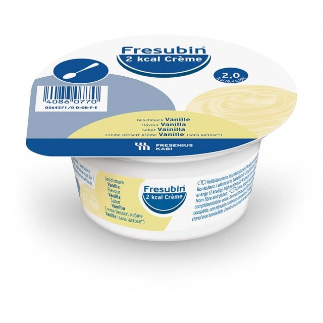 Fresenius 2 kcal Cream for spooning, 125 g pot with 250 kcal