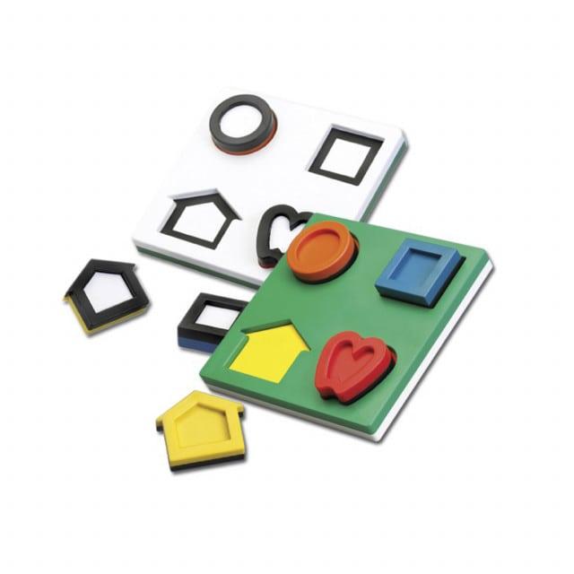 Symbole LEA - puzzle 3D do badania koordynacji oko-ręka