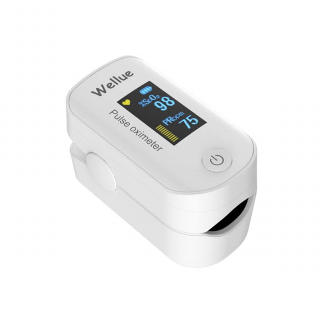 Bluetooth pulse oximeter FS20F, available in various colours