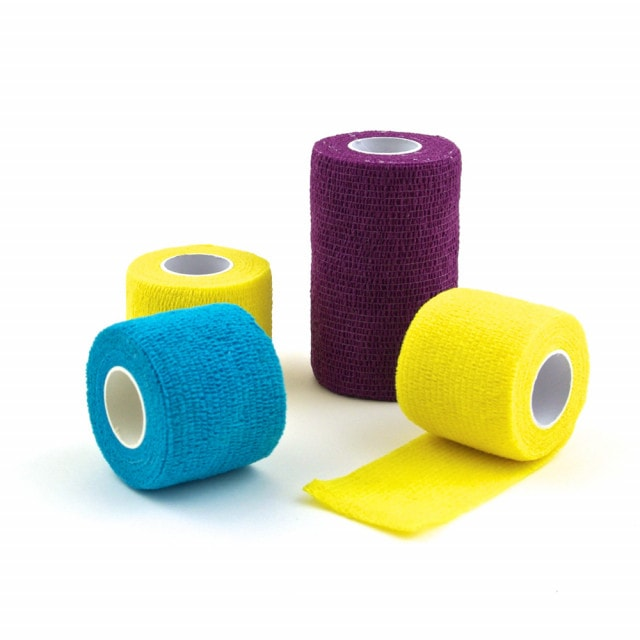 Self-adhesive fixation bandage, available in various sizes