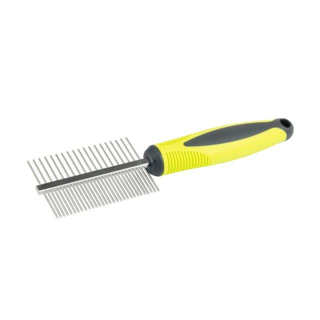 Dos tipos de dientes permiten desenredar el pelo con facilidad