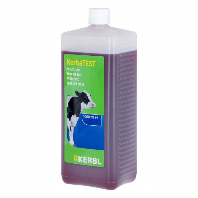 Test fluid for performing a California mastitis test