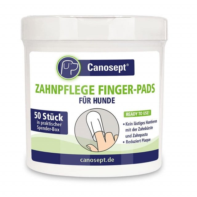 50 specially shaped finger pads in a resealable tin