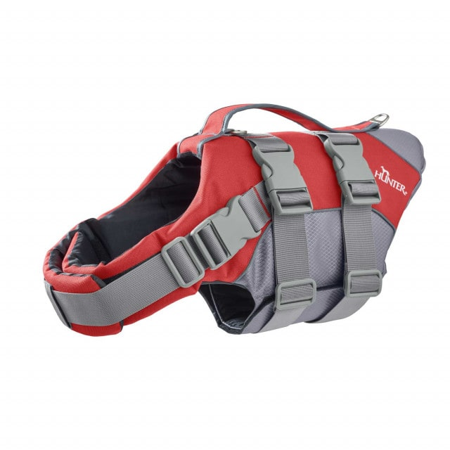 Moss life jacket from Hunter supports the dog when swimming