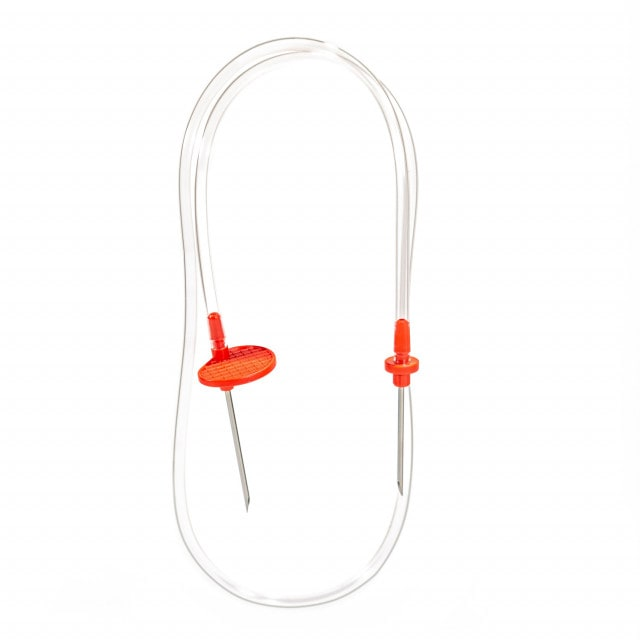Blood collection device for phlebotomy, available in various sizes