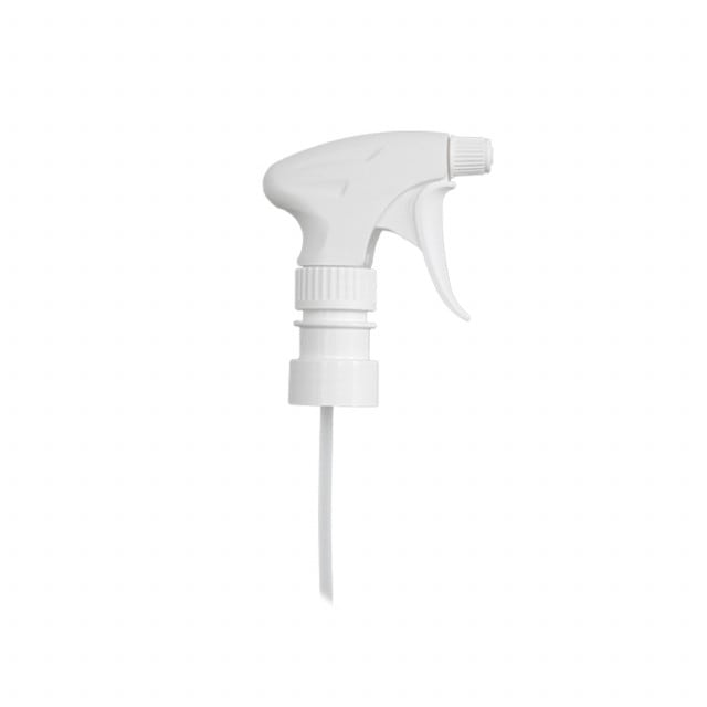 Cabeza de spray manual de pulverización para 1 botella de un litro.