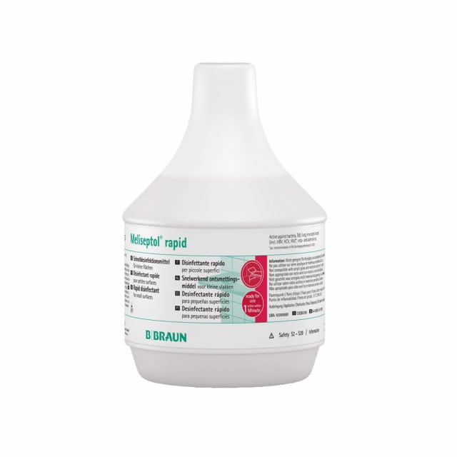 Meliseptol rapid surface disinfectant - particularly short activation time and free of aldehydes