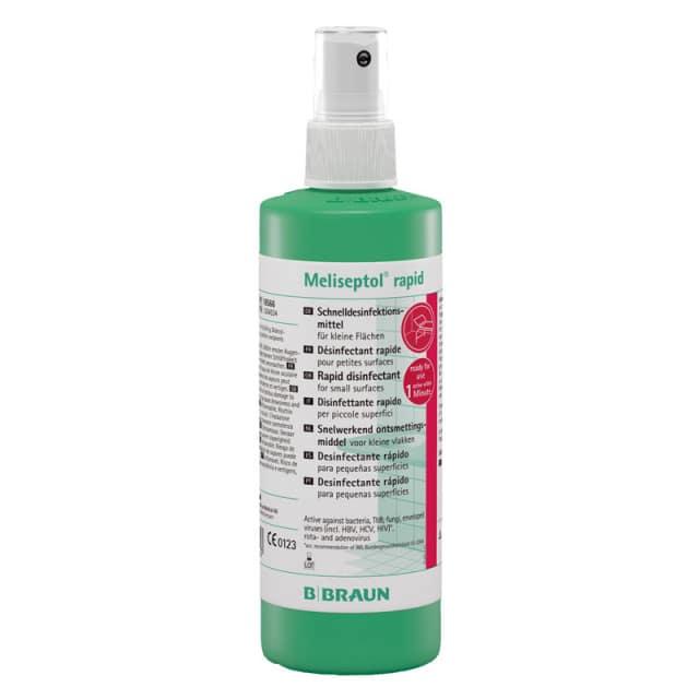 La désinfection rapide des surfaces Méliseptol est particulièrement efficace et sans aldéhyde