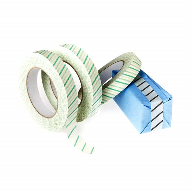 Indicator tape on a roll with 50 metres