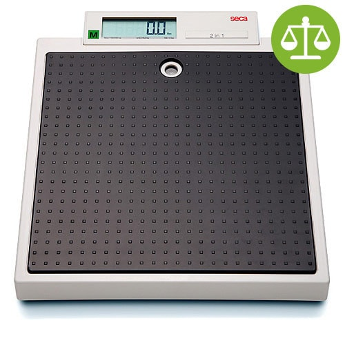 seca 877 electronic flat scale with a load capacity of up to 200kg