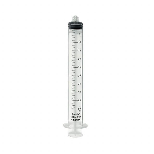 La seringue jetable Omnifix Solo Luer-Lock permet un ajustement précis et une lisibilité idéale