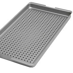 Perforated tray for use with the Melag 75 steriliser