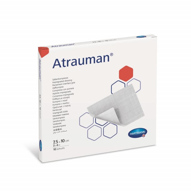 Atrauman ointment compresses   No active ingredients, non-adhesive
