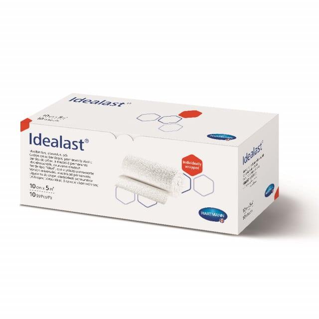 Idealast es un vendaje elástico permanente de tracción corta