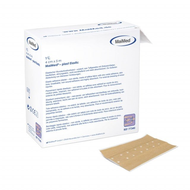 MaiMed-plast Elastic adhesive plaster roll available in different widths