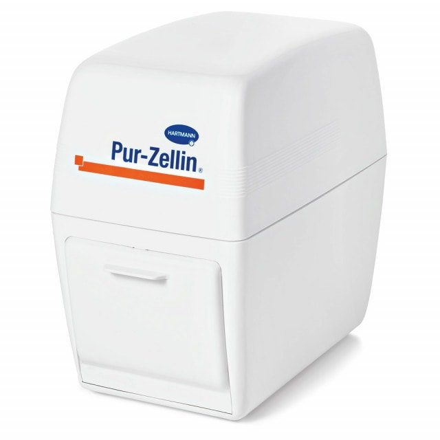 Pur-Zellin Box from Hartmann for contaminant-protected swab storage
