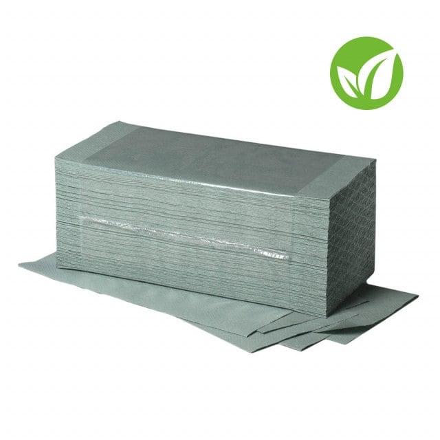 Ręczniki papierowe, 1-warstwowe, dostępne w kolorze białym lub naturalnym