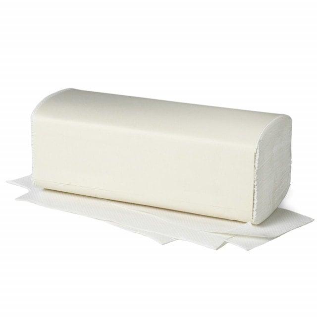 Papierhandtücher 2-lagig in Zick-Zack-Faltung für viele gängige Handtuchspender