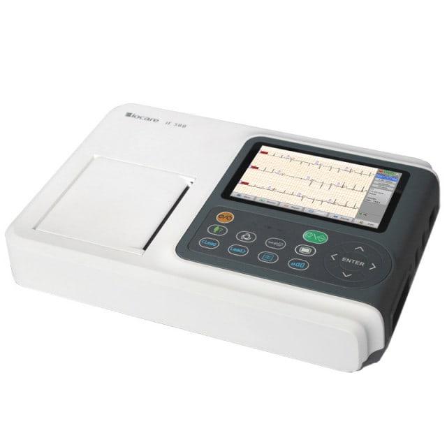 """Biocare iE 300 ECG-apparaat met 5"""" display met hoge resolutie"""