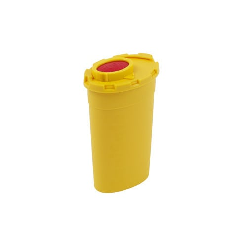 Cannula disposal container, volume 200 ml