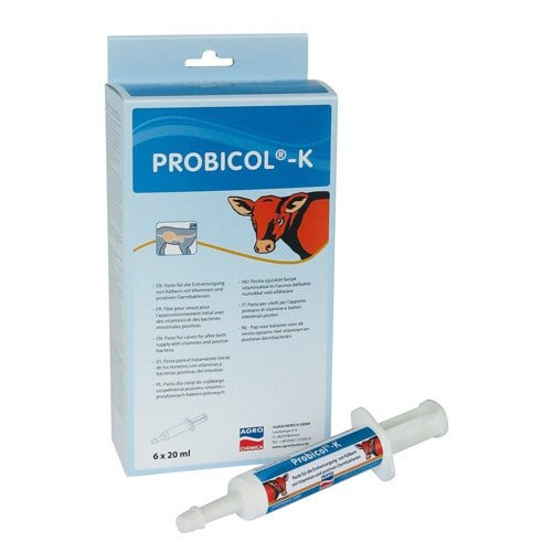 Probicol-K paste for improving immune system of newborn calves