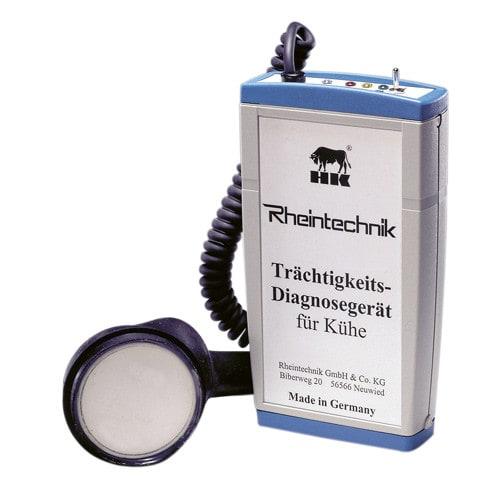 Urządzenie do diagnostyki ciąży dla krów - poręczne i kompaktowe