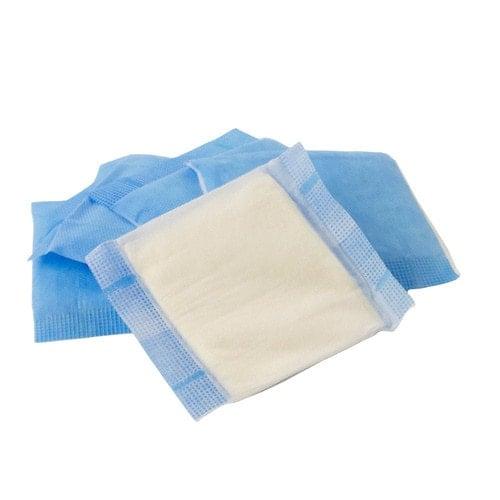 Absorbent compresses, non-sterile