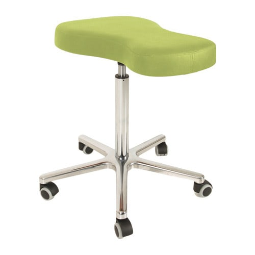 """""""Hippo"""" medical stool with ergonomic seat shape to support healthy posture"""