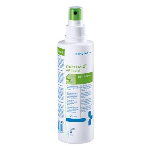 Mikrozid AF liquid oppervlak desinfectie droogt snel en vlekkeloos