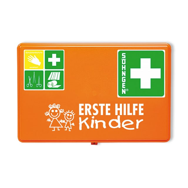 First aid kit for pre-schools
