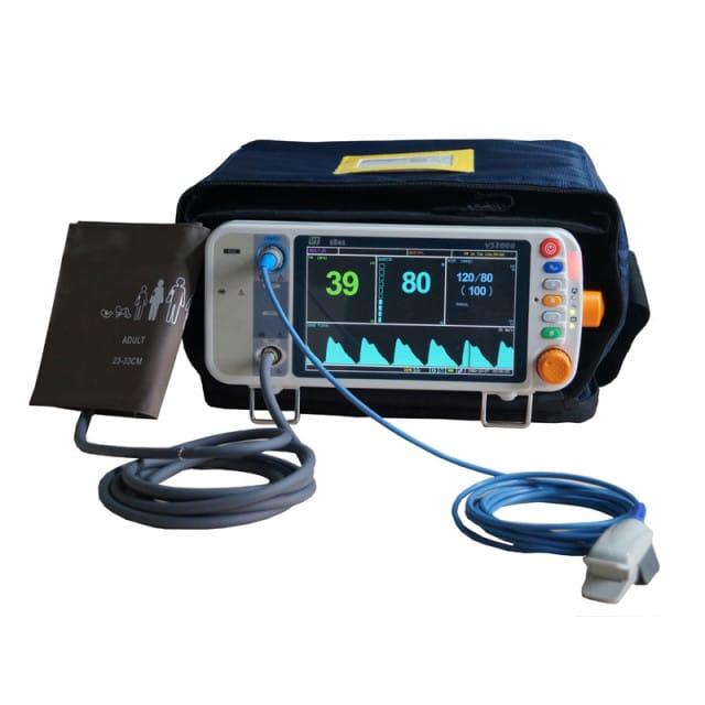 Valigetta per custodire e trasportare il monitor paziente VS2000 della Utech