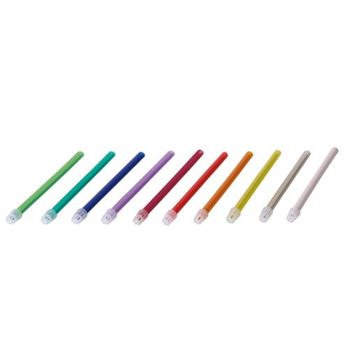 Unigloves saliva ejector in a wide range of colours