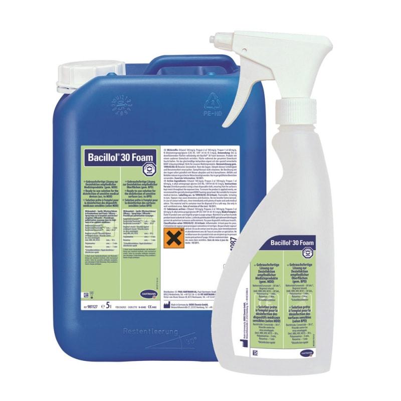 bacillol 30 foam fl chendesinfektionsmittel 5 liter. Black Bedroom Furniture Sets. Home Design Ideas