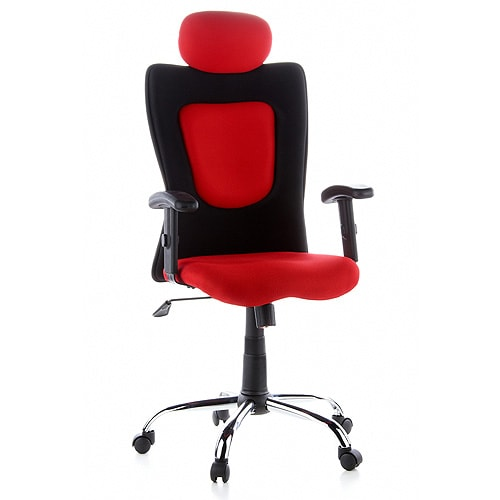 Designer Swivel Chair Red Praxisdienst