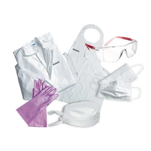 hygiene and protective clothing Journal of occupational and environmental hygiene  byproducts through or  around personal protective equipment (ppe) or from the.