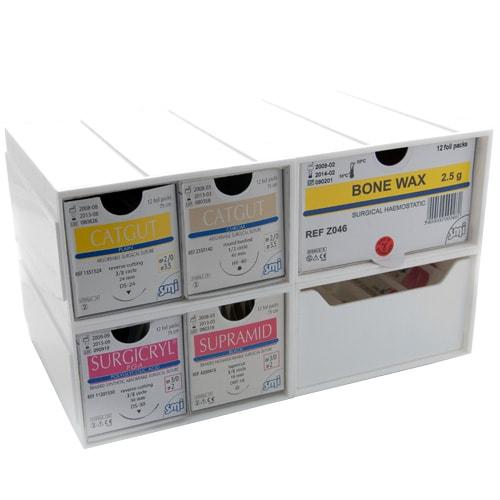drawers for suture rack vet storage and vet supplies praxisdienst vet. Black Bedroom Furniture Sets. Home Design Ideas