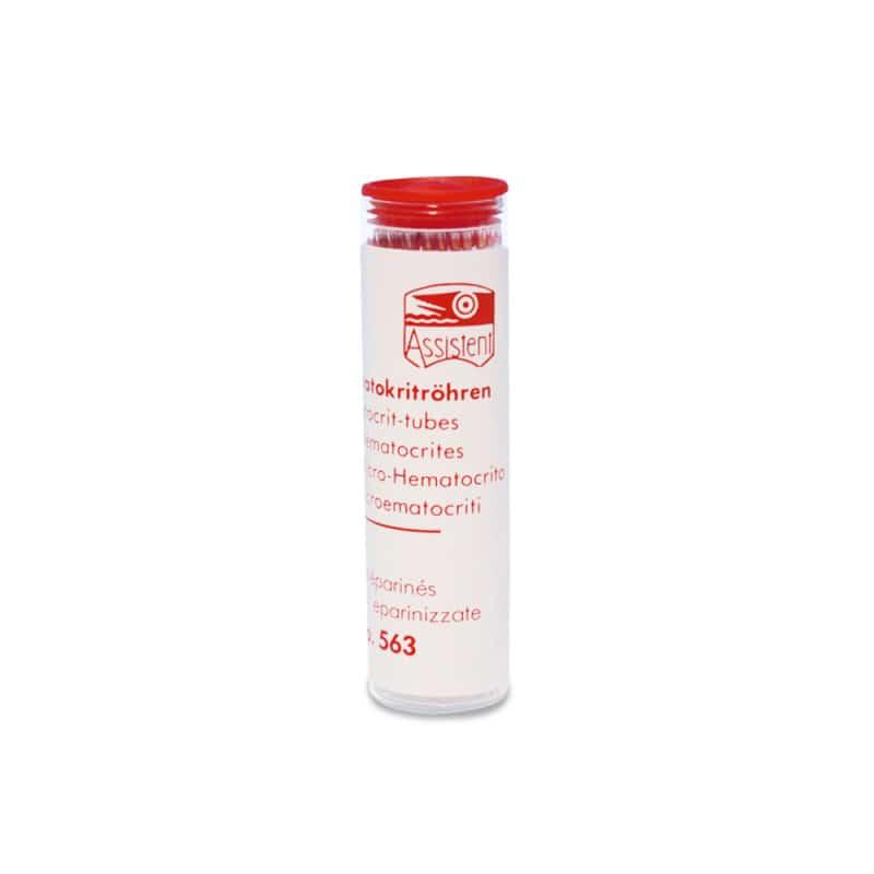 Hämatokrit-Kapillaren, heparinisiert