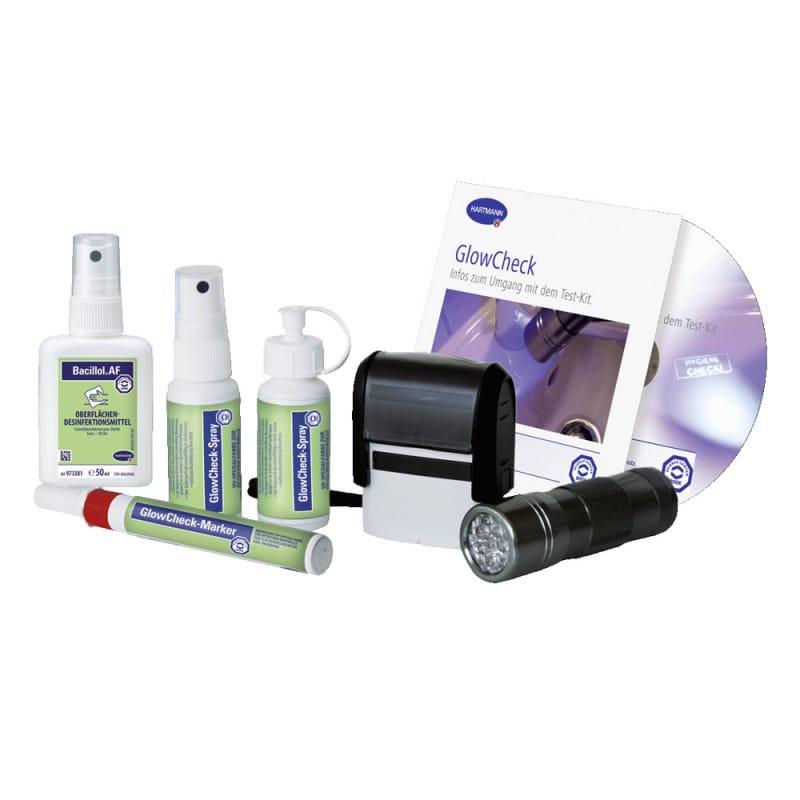 GlowCheck hygiene control