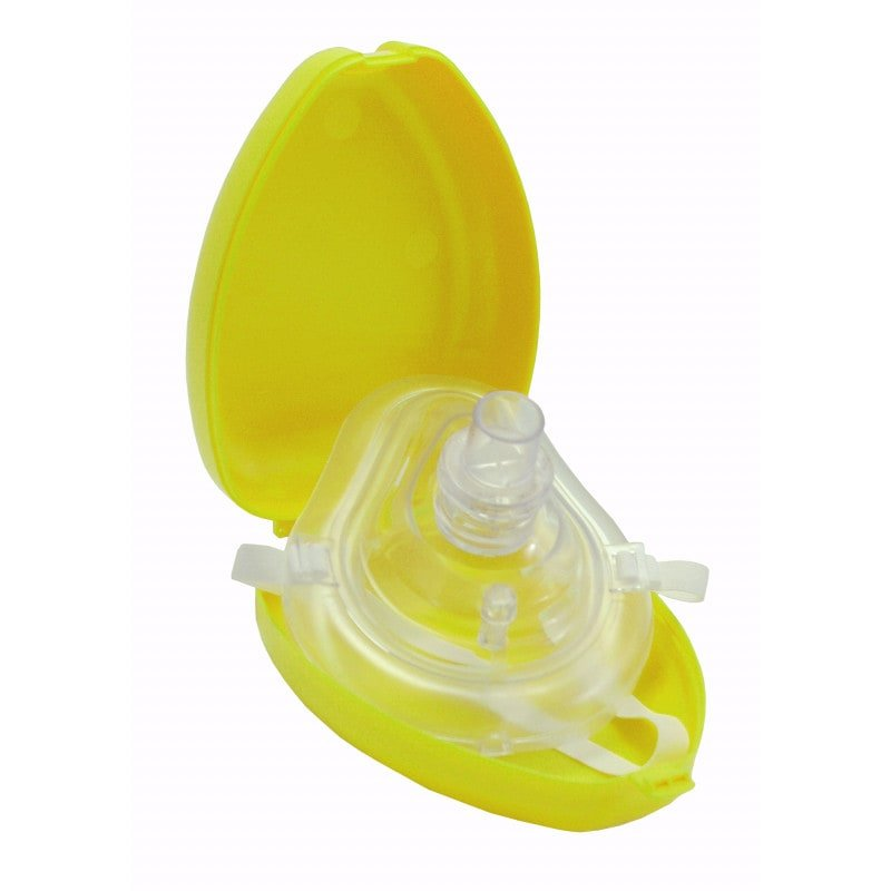 Beatmungsmaske «Mund-zu-Maske» mit Etui für sichere und hygienische Beatmung