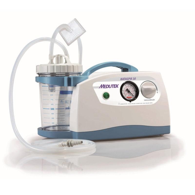 KATASPIR 30 Absaugpumpe inklusive Sekretbehälter und Bakterienfilter