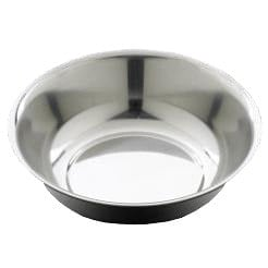 Stainless steel wash bowl